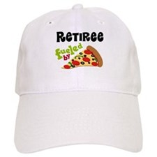 Retiree Funny Pizza Gift Baseball Baseball Cap