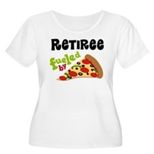 Retiree Funny Pizza Gift Plus Size T-Shirt