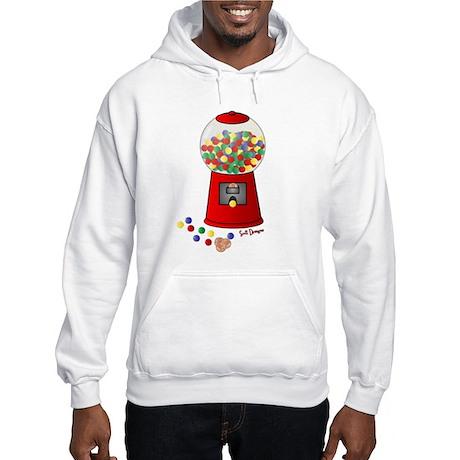 Bubble Gum Machine Hooded Sweatshirt