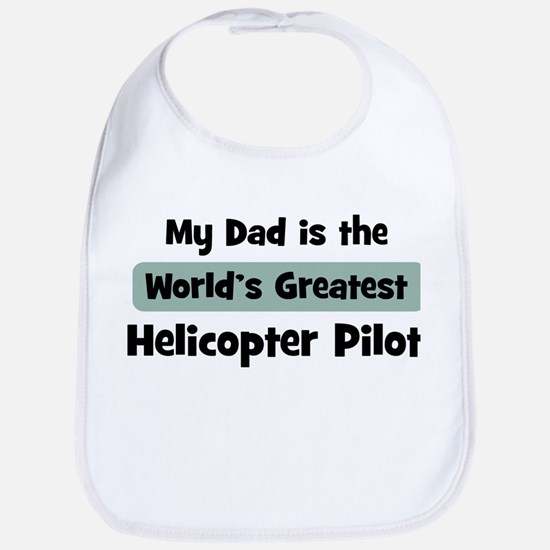 Worlds Greatest Helicopter Pi Bib
