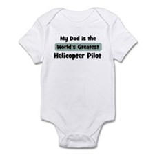 Worlds Greatest Helicopter Pi Infant Bodysuit