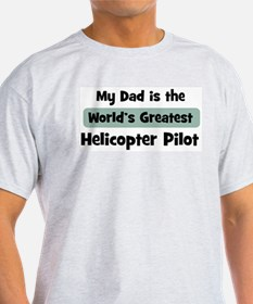 Worlds Greatest Helicopter Pi T-Shirt