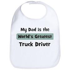 Worlds Greatest Truck Driver Bib