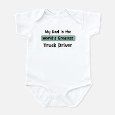 Worlds Greatest Truck Driver Infant Bodysuit