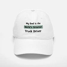 Worlds Greatest Truck Driver Baseball Baseball Cap