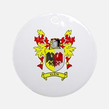 KLEIN Coat of Arms Ornament (Round)