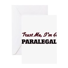 Trust me I'm a Paralegal Greeting Cards