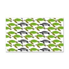School of Sea Turtles v2sq Rectangle Car Magnet