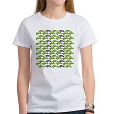 School of Sea Turtles v2sq T-Shirt
