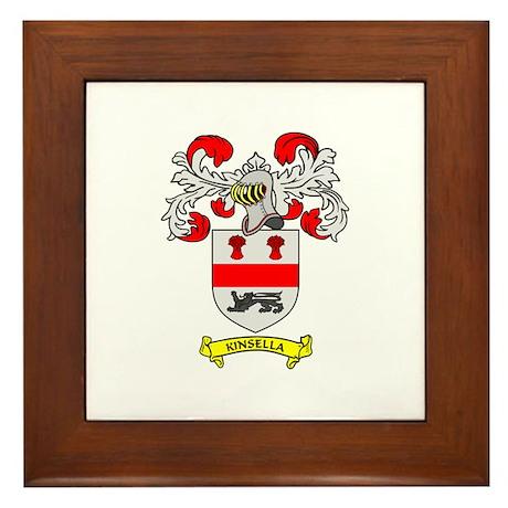 KINSELLA Coat of Arms Framed Tile