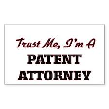 Trust me I'm a Patent Attorney Decal