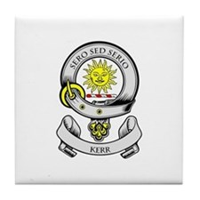 KERR 2 Coat of Arms Tile Coaster