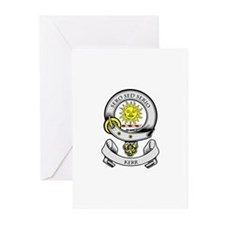 KERR 2 Coat of Arms Greeting Cards (Pk of 10)