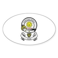 KERR 2 Coat of Arms Oval Decal