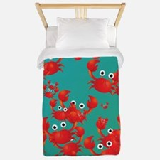 Crab world Twin Duvet