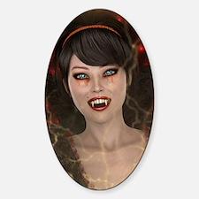 Lady Vamp Decal