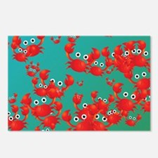 Crab world Postcards (Package of 8)