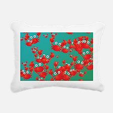 Crab world Rectangular Canvas Pillow