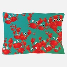 Crab world Pillow Case