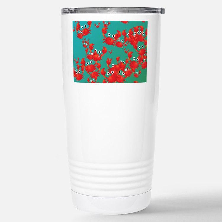 Crab world Travel Mug