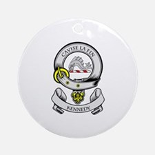 KENNEDY 2 Coat of Arms Ornament (Round)
