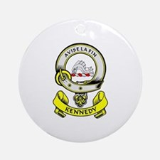 KENNEDY 1 Coat of Arms Ornament (Round)