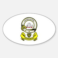 KENNEDY 1 Coat of Arms Oval Decal