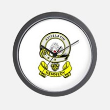 KENNEDY 1 Coat of Arms Wall Clock