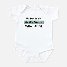 Worlds Greatest Tattoo Artist Onesie