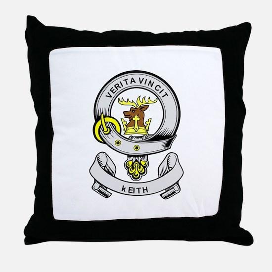 KEITH Coat of Arms Throw Pillow