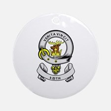 KEITH Coat of Arms Ornament (Round)