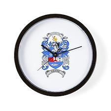 KEANE Coat of Arms Wall Clock
