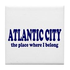 Atlantic City Tile Coaster