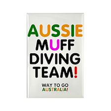 Aussie Muff Diving Team - Way To Go Magnets