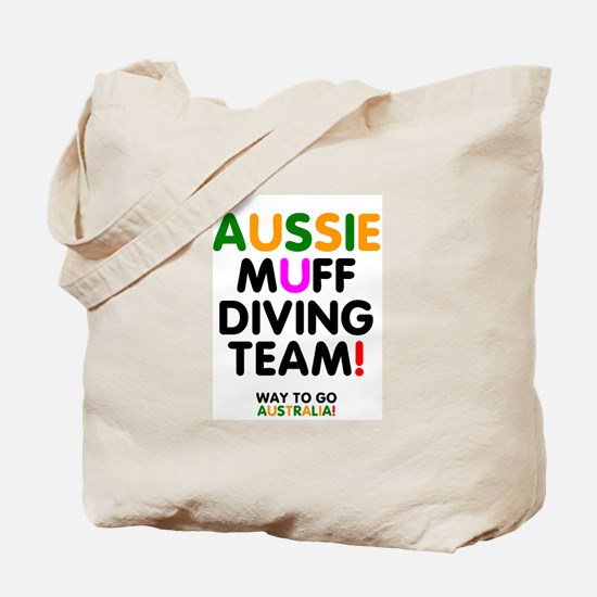 Aussie Muff Diving Team - Way To Go Tote Bag