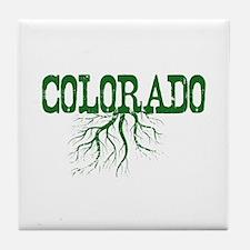Colorado Roots Tile Coaster