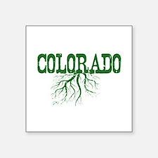 """Colorado Roots Square Sticker 3"""" x 3"""""""