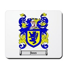 JONES Coat of Arms Mousepad