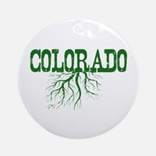Colorado Roots Ornament (Round)