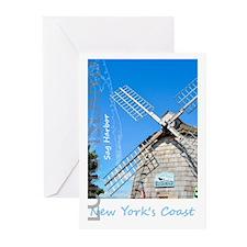 Long Island. Montauk Poi Greeting Cards (pk Of 10)