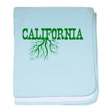 California Roots baby blanket