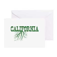 California Roots Greeting Card