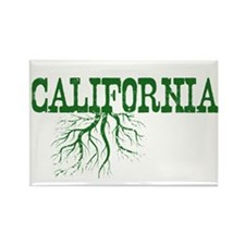 California Roots Rectangle Magnet (100 pack)