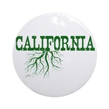 California Roots Ornament (Round)