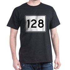 Massachusetts Route 128 T-Shirt