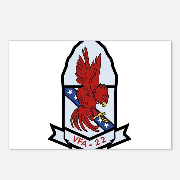 vfa-22 patch Postcards (Package of 8)