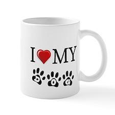 I LOVE MY DOG Gifts Mugs