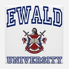 EWALD University Tile Coaster