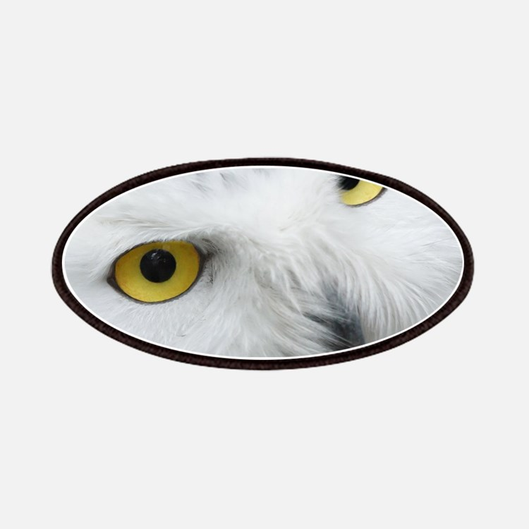 snowy owl Patches