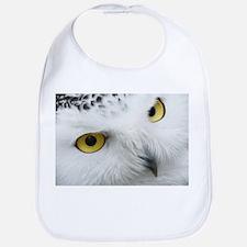 snowy owl Bib